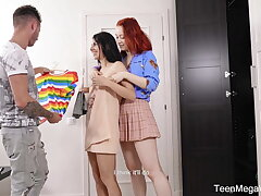 TeenMegaWorld - FirstBGG - Choosing outfit for crazy orgy