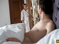 SISPORN. Naughty as Tophet girl is fucked nearby the stepbro