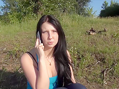 Amazing amateur Phone, Outdoor xxx movie