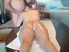 Sexy Ass Is Getting A Massage
