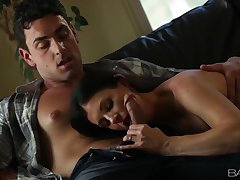 Beautiful foreplay with flawless milf pornstar India Summer