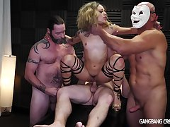 Warm Man Milk Loads Less Her Coochie - Crazy Gangbang