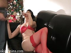 Realm of possibilities brunette milf rides a cock hardcore after giving a blowjob