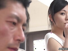 Japanese sexpot Miyuki Ojima is off the charts sexy and she loves anent fuck